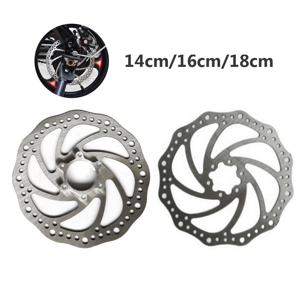 Freno de disco del Rotor de acero inoxidable de 180mm / 160mm / 140mm 6 pulgadas para bicicleta de montaña MTB, piezas para bicicleta
