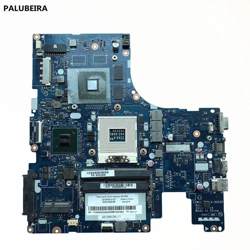 PALUBEIRA LA-9063P для lenovo Z500 Материнская плата ноутбука VIWZ1-Z2 LA-9063P Z500 оригинальная материнская плата 100% тест работа с 4 чип VGA