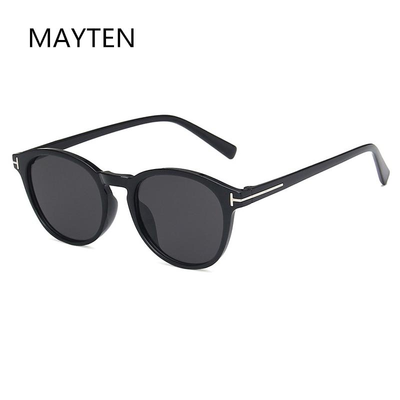classic brand design Retro Small frame Round Sunglasses Fashion Sunglasses Men Women Sunglasses male