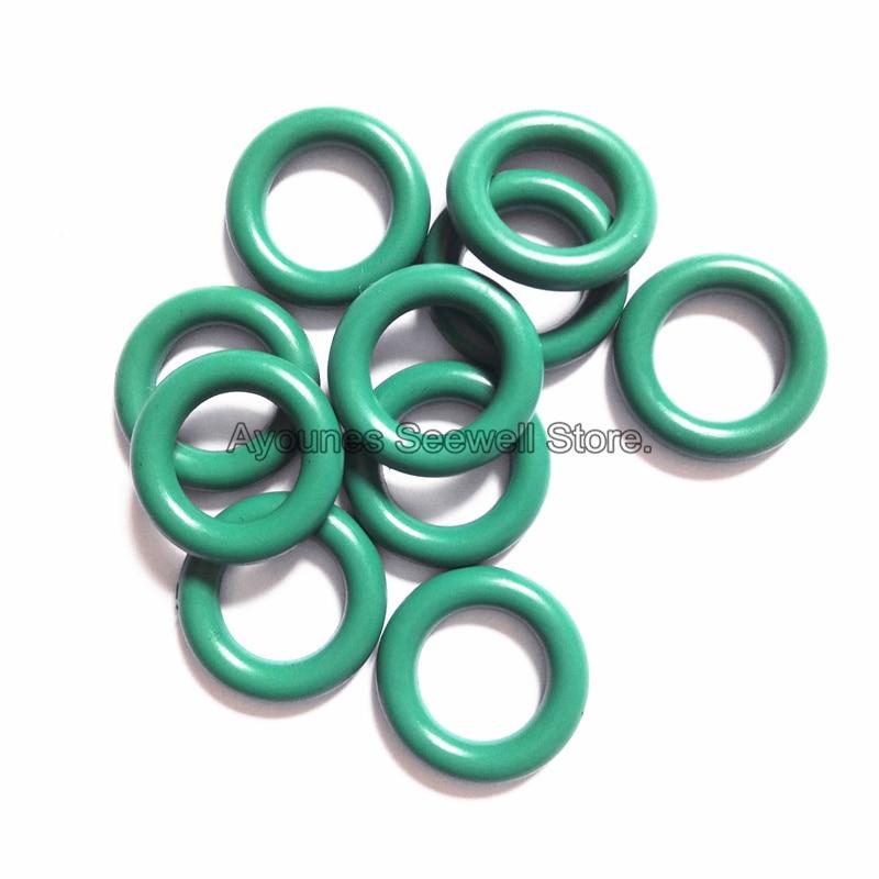 100Pcs Fuel Injector  O-ring  High Temperature rubber oring seals for Nissan Altima/Sentra Fuel  repair kits (AY-O2015)