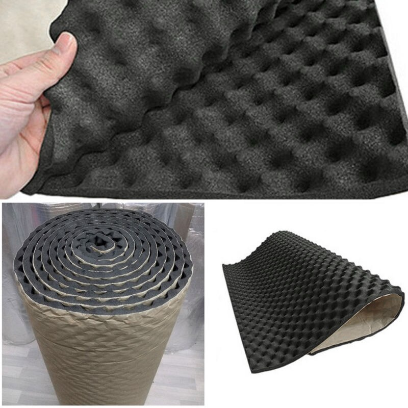 Foam Car Sound Deadener Mats Pad Part Noise Dampening Subwoofer Trim Sheet Wraps