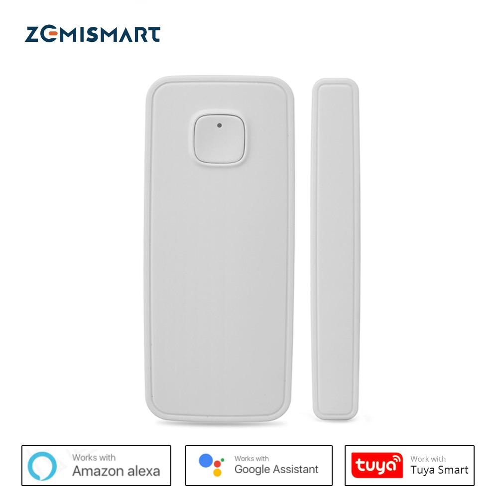 Capteur de porte fenêtre Wifi, Mini alarme de sécurité Alexa Google Home, application de téléphone intelligent, télécommande