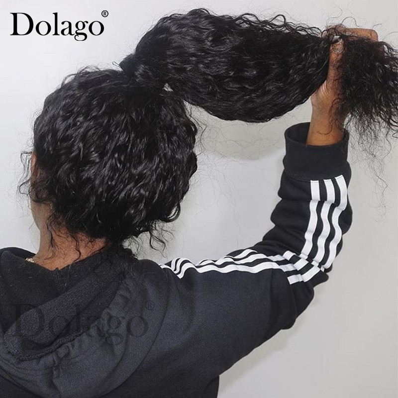 Curly 360 Lace Frontal Wig With Baby Hair Deep Wave Pre Plucked Glueless Full Lace Human Hair Wigs 13x4 Lace Front Wig Dolago