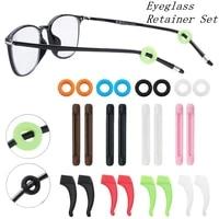12pairs silicone sunglasses unisex multicolor nose pads grips holder anti slip eyeglass retainer set glasses accessories set