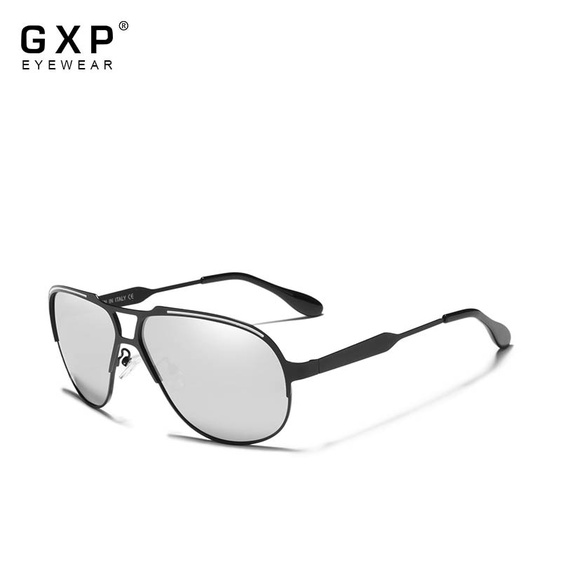 GXP 2020 Pilot Sunglasses Men Vintage Polarized Sunglasses UV400 Eyewear Accessories Male Anti-Refle