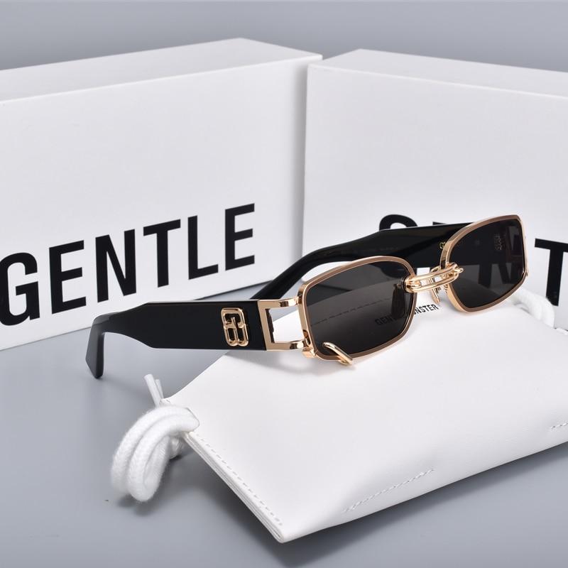 2020 new Fashion square  metal  men women Sunglasses  Gentle GW002  Acetate Polarized UV400 UV protection sunglasses women men