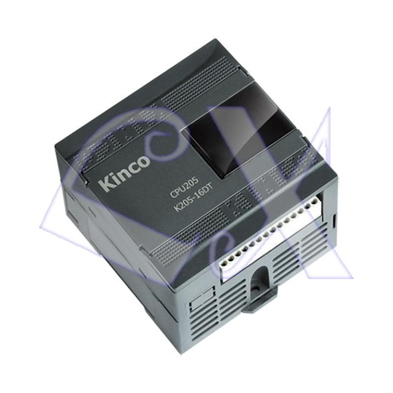 Envío gratuito, módulo de CPU PLC K205-16DR Kinco, salida de relé de 16 puntos, incluyendo comunicación 6DI 6DO DC24V RS485
