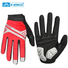 INBIKE Radfahren Handschuhe Volle Finger Fahrrad Sport Handschuhe Männer Frauen Herbst Winter Touchscreen Fitness Klettern MTB Bike Handschuhe