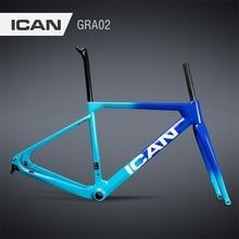 700C T700 carbone vélo cadre gravier cadre mécanique et Di2 gravier vélo cadre disque vélo plat montage GRA02