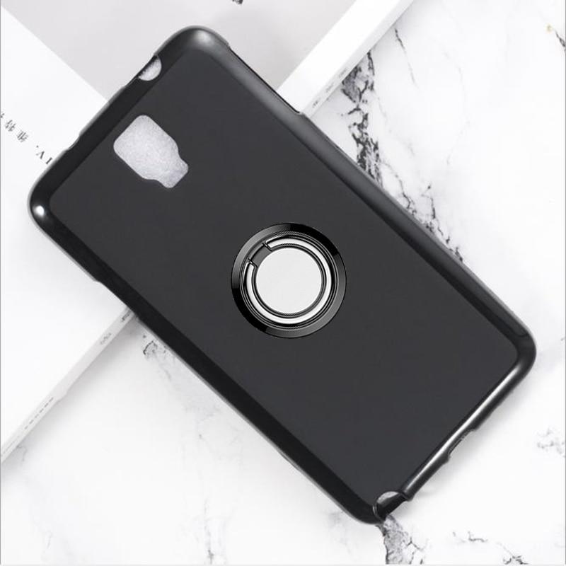 Soporte de anillo trasero para Samsung Galaxy Note 3 Neo LTE, funda...