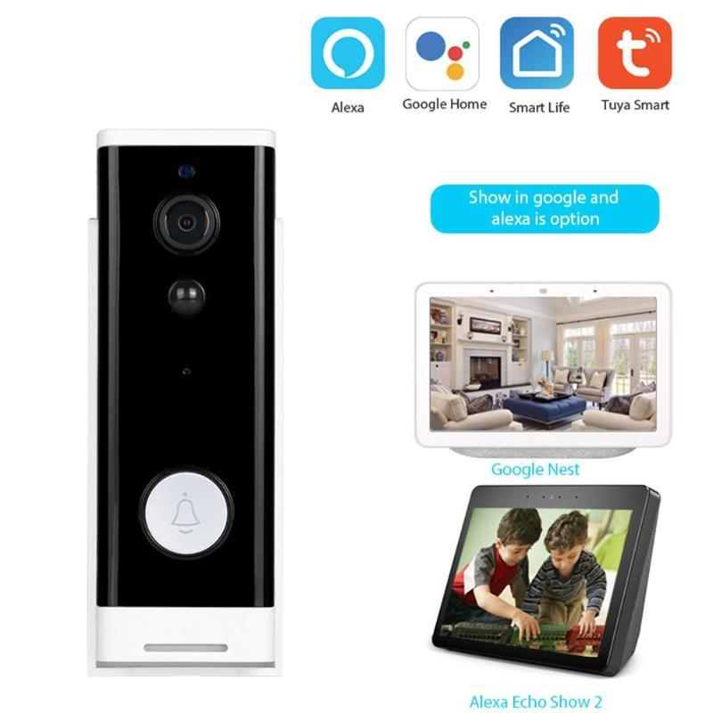 WiFi inalámbrico Video inteligente timbre excelente artesanía bueno durabilidad duradera 1080p visión nocturna por infrarrojos cámara IP