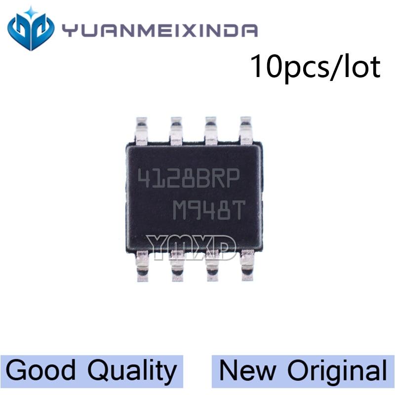 10pcs/lot New Original M24128-BRMN6TP 4128BRP Chip SOP-8 SMD Memory IC In Stock