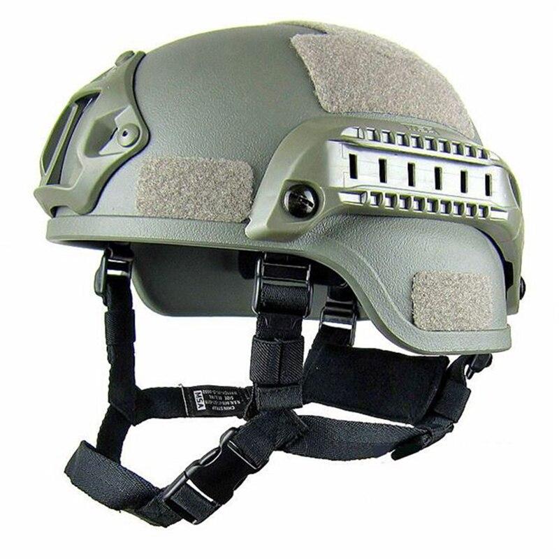 Casco táctico militar de calidad Fast PJ, funda Casco Airsoft, accesorios deportivos, protección de salto rápido de Paintball