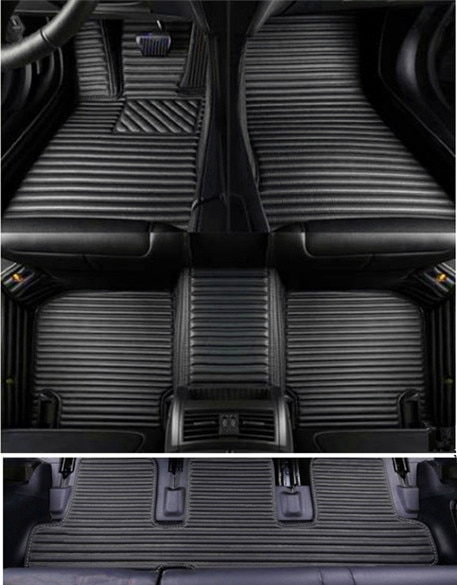Set completo personalizado de alfombrillas de coche + alfombrilla de maletero para Hyundai Grand Starex 8 9 asientos 2019-2010 alfombras impermeables para Grand Starex 2018