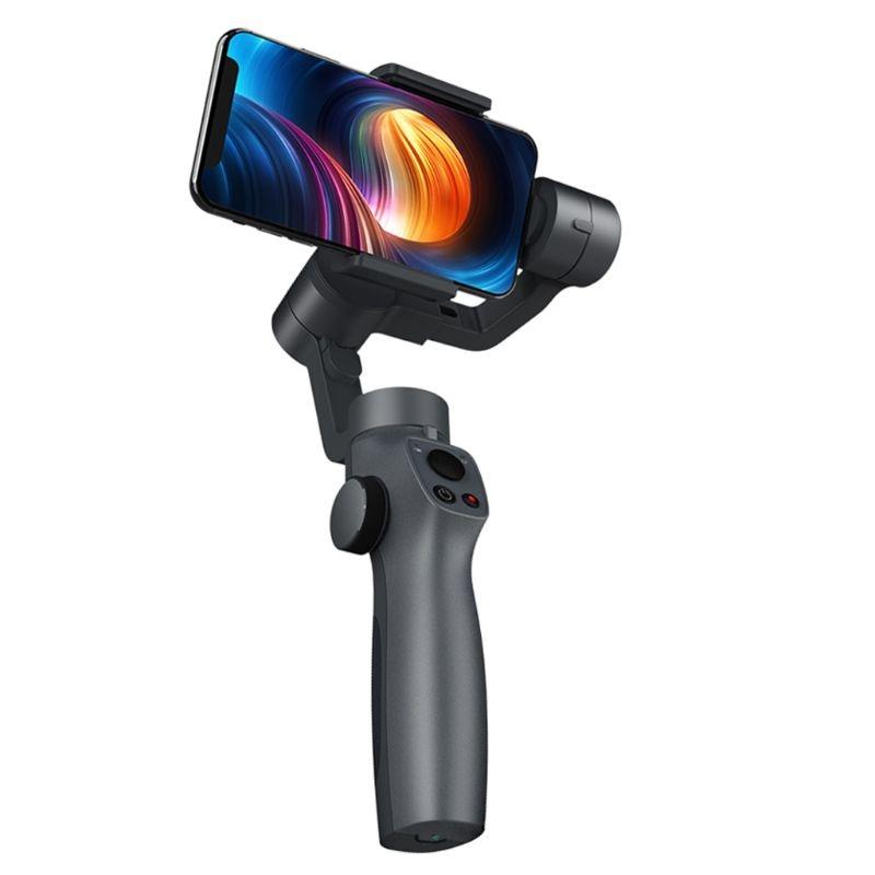 Estabilizador de cardán de mano de 3 ejes para teléfonos iPhone An-droid para Gopro-cámara nueva