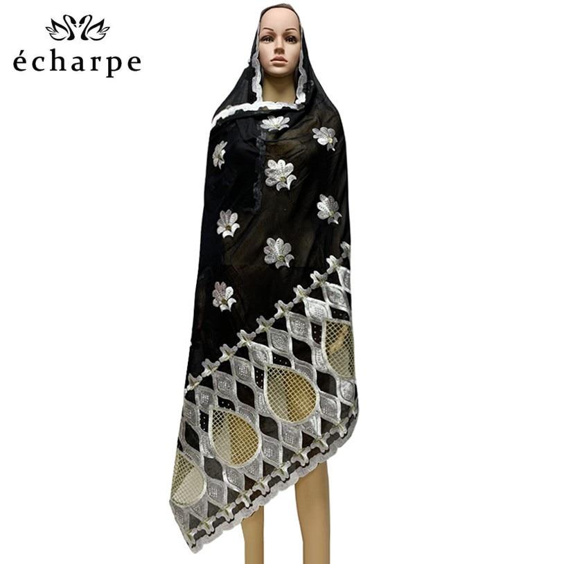 Распродажа шарфов! 100% хлопковый шарф, Африканский женский хиджаб, женский шарф, оптовая цена EC1016