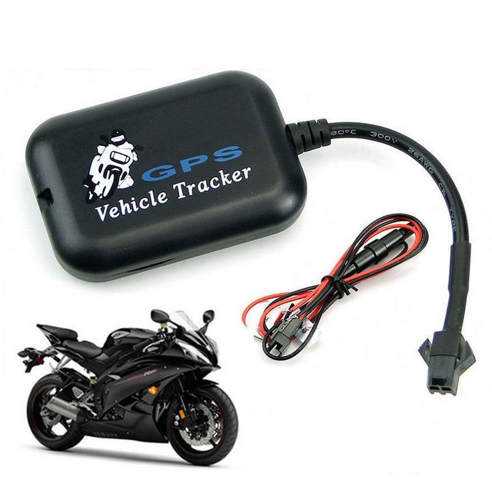 Dispositivo de seguimiento para motocicletas y vehículos en tiempo Real Mini rastreador GPS de coche GSM, Sistema Localizador Global, sistema antirrobo, compatible con SMS y Web