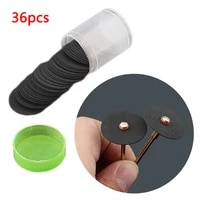 36pcs 24mm cutting disc reinforced cutting wheel dremel accessories rotary saw disc tool grinding tool amily standing tools
