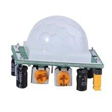 HC-SR501 Pyroelectric IR PIR 적외선 반사 모션 바디 센서 모듈 보드 Arduino diy에 대 한 인간의 감지 조정