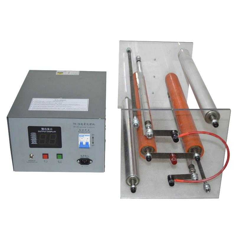 رف تفريغ الهواء الكهربائي TS-500mm سطح المكتب فيلم تأثير رف إطار العلاج كورونا