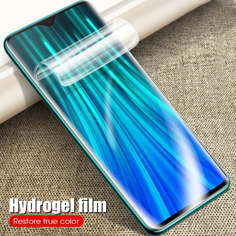 Vidrio de hidrogel suave 9D para Xiaomi Red mi Note 8 7 Pro K20 Pro 7A cubierta de película frontal para Xiaomi mi 9 SE 9T Pro mi 9T cubierta de vidrio 2019