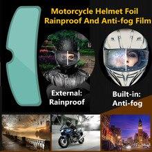 2 stücke Klar Pinlock Anti-nebel patch Motorrad Full Face Helm Generisches für K3 K4 AX8 LS2 HJC Marushin helme Objektiv Anti-fog visier