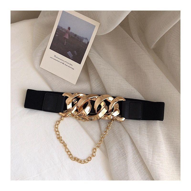 New Fashion Genuine Leather Women Belt Dress Coat Decorated Luxury Girdle Wide Belts For Women Cloth