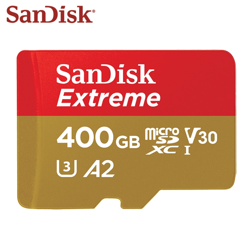 Sandisk Extreme Micro Sd-kaart 128 Gb Geheugenkaart UHS-I Sdhc Sdxc U3 V30 32 Gb 64 Gb Tf Card voor Smartphone Camera Gratis Verzending