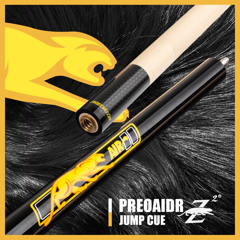 PREOAIDR 3142 Air 2 Jump Cue 13mm Tip 106.68 cm Length Maple Professional Handmade POINOS  Pool 13MM Durable