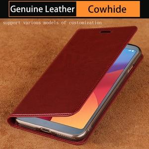 Масло из вощеной кожи чехол для телефона для LG G3 G4 G5 G6 G7 G8s ThinQ V10 V20 V30 V40 V50 Thinq для lg Q6 Q7 Q8 K4 K8 2017 K10 K11 2018 крышка