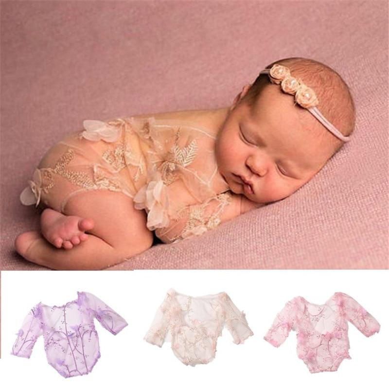 Barboteuse de Studio de photos pour nouveau-nés, vêtements pour bébés filles, barboteuse en tissu, accessoires de Studio de photos