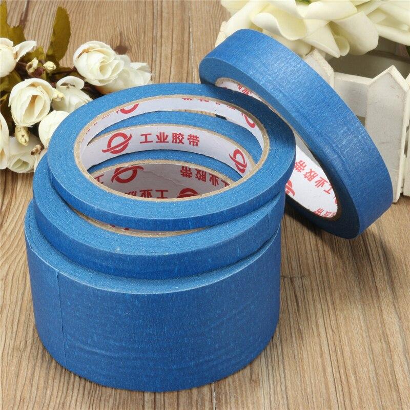 30M cinta adhesiva azul resistente a altas temperaturas pegatinas adhesivas decorativas 6/12/20/50mm DIY