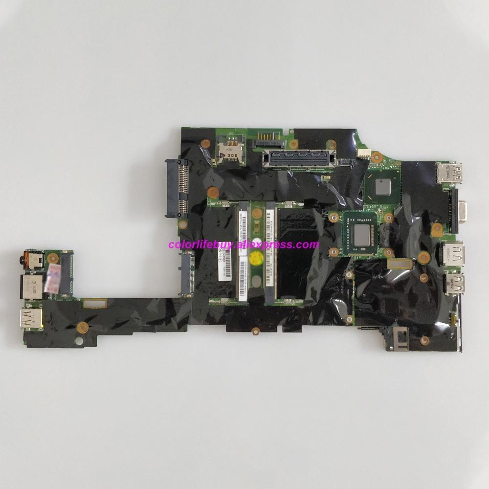 Genuine FRU: 04W3306 H0225-3 w Cel847 SR08N CPU QM67 Laptop Motherboard for Lenovo ThinkPad X220 NoteBook PC