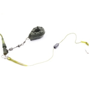 Fishing Lead Sinker Drop-shaped Lead Sinker for Fishing with Ring Fishing Olive Shape Rig Sinkers Angling Lead Shot Sinking Bait