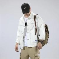 long sleeve korean pilot jacket men casual hip hop bomber rain men jacket cardigan windbreaker ropa mens clothing by50jk