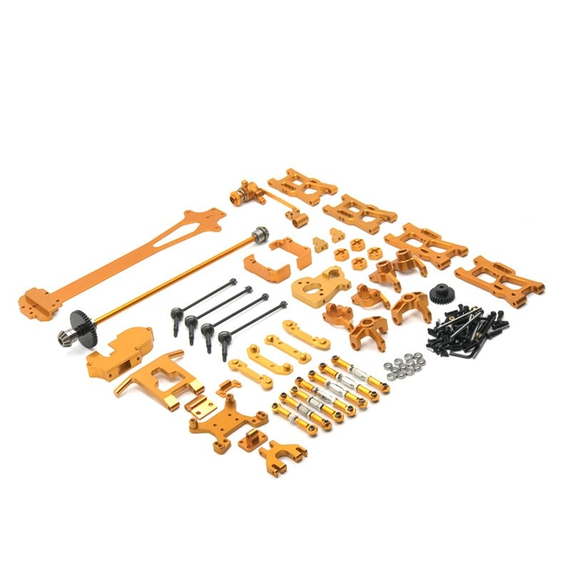 WLtoys 1/12 124016 124017 124018 124019 RC Car Upgrade and Modification Parts 21 Sets of Metal Accessories enlarge