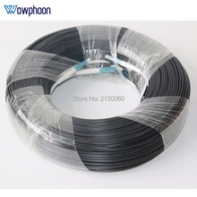 Câble de raccordement optique de Fiber FTTH   500M, câble de raccordement dextérieur LC UPC Duplex FTTH