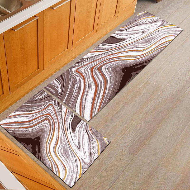 Alfombras modernas lavables antideslizantes para baño, alfombras para cocina, felpudo para puerta de entrada, tapetes para mesa de comedor, alfombrilla para base de silla de oficina