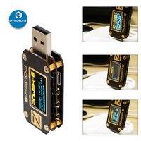 KM001 POWER-Z Portable USB PD Tester QC3.0 2.0 PD Digital Voltmeter Digital Voltage Current Type-C Meter Power Bank Detector