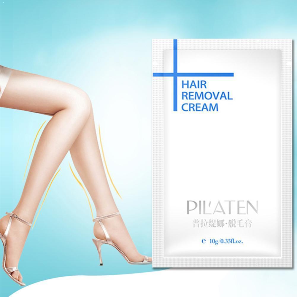 Depilatorio indoloro Crema para las piernas CUIDADO DE LA PIEL CREMA de depilación de piernas crema para la eliminación de axilas Pilaten Epilage para Ha A1O7