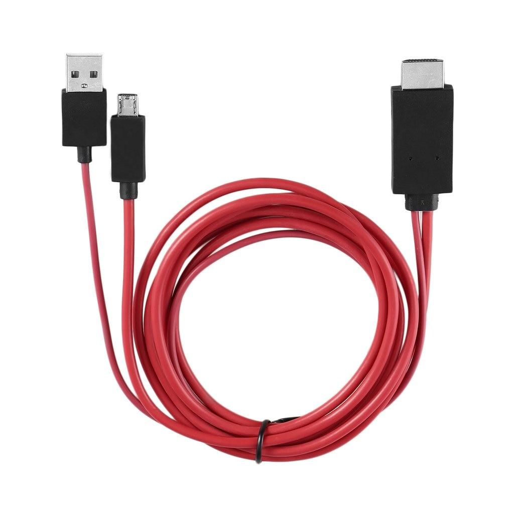 Micro USB a HDMI compatible con Cable 1080P MHL HDTV adaptador de...