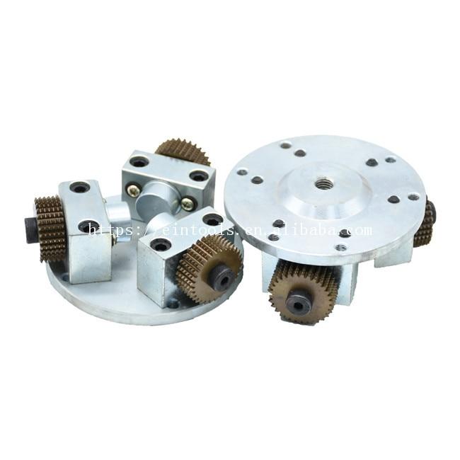 Tungsten Carbide Cutter Bush Hammer Three Roller Disc Concrete Floor Grinder high Speed Floor Tools enlarge