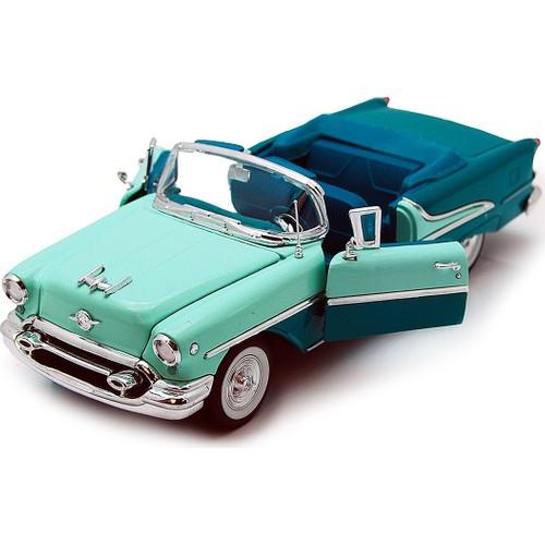 Welly 124 1955 Oldsmobile Super 88 Blauw
