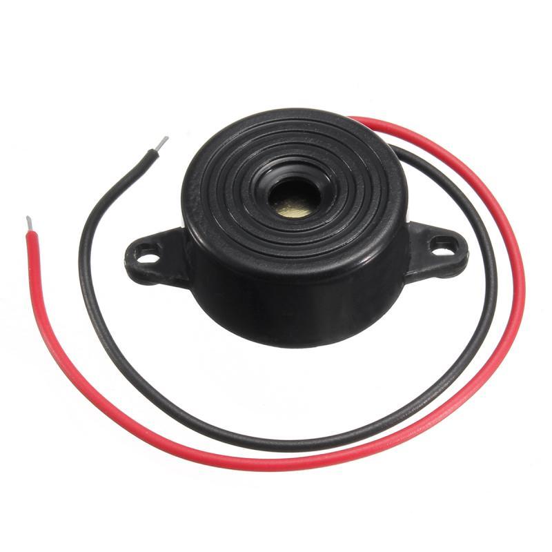 New 3-24v Piezo Electronic Buzzer Alarm 95db Continuous Sound Beeper 95DB Continuous Sound Beeper For Auto Car Accessories