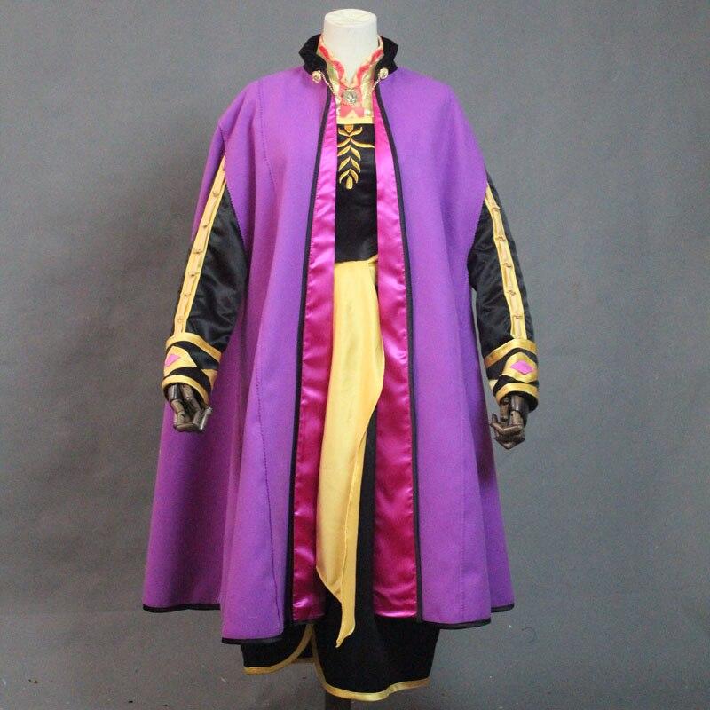 2020 el más nuevo Moive Anna del traje de Cosplay de Halloween lujo nieve crecer traje vestido de Anna ropa nueva