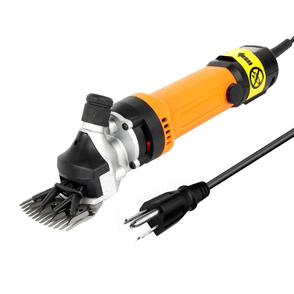 Máquina de Corte Engrenagens Min Ajustável Aparador Elétrico Ovelha Cabra lã Corte Cortador Multifunções Ferramenta Elétrica 690w 6 2400r –