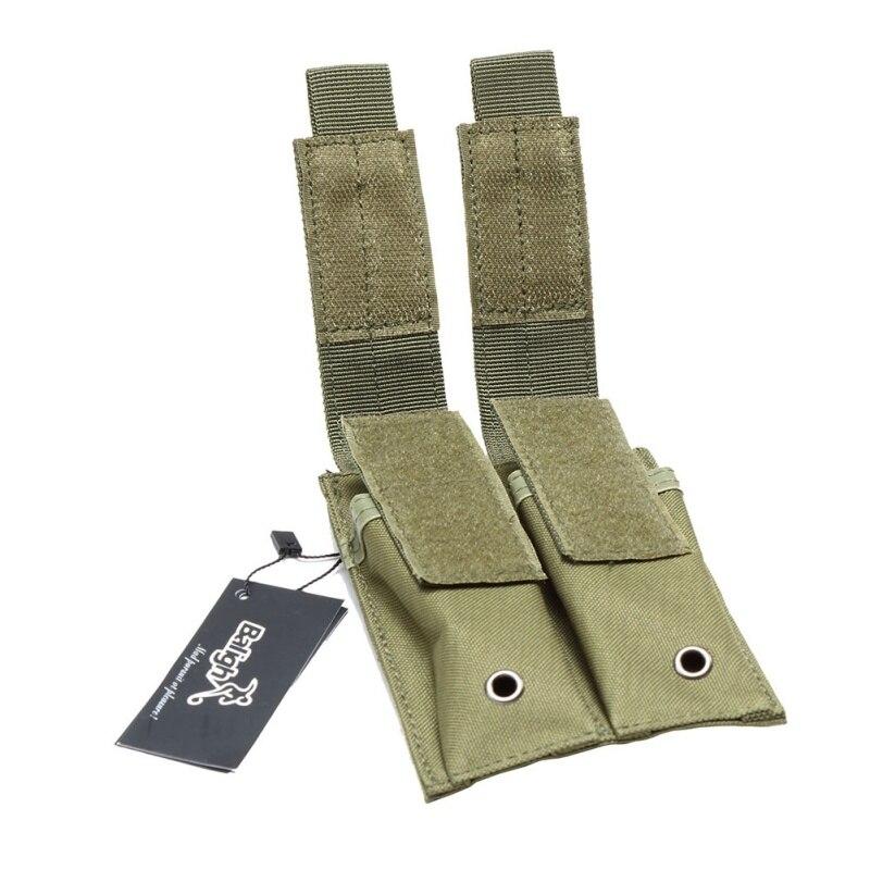 Kit de accesorios dúplex multifuncional pequeño bolso para artículos diversos chaleco táctico bolso Molle dos contenedores bolso de linterna