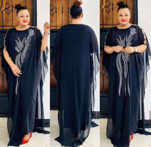 2021 African Dresses for Women New Style Classic Africa Dashiki Fashion Loose Long Dress African Clothes  Fashion Abaya