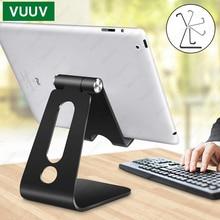 VUUV שולחן עבודה מחזיק Tablet Stand עבור ipad 9.7 10.2 10.5 11 אינץ סיבוב אלומיניום Tablet Stand מאובטח עבור סמסונג Xiaomi