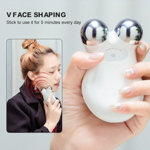 Facial Massager EMS Face-Lifting Microcurrent Roller Massager Tightening Anti Skin Care Microcurrent Face Lift Beauty Device